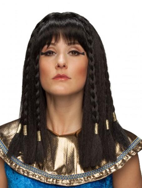 Perücke Ägyptische Königin lang