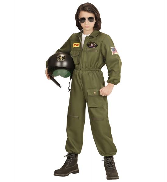 Kampfjet Pilot Overall