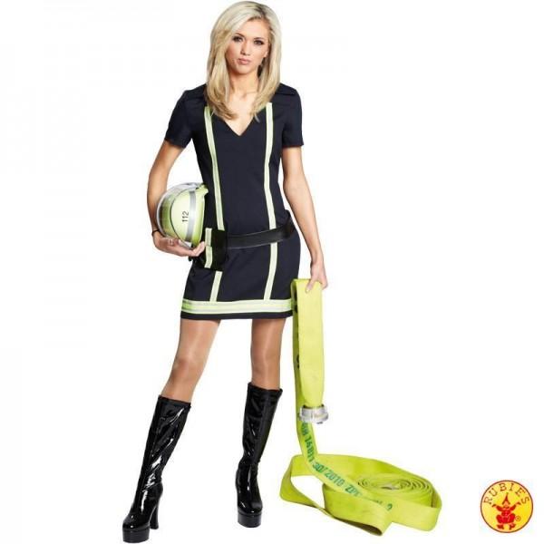 Sexy Feuerwehrfrau 2-tlg.
