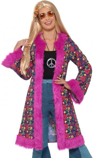 60s Psychedelic Hippie Coat