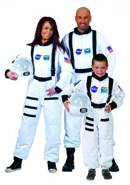 Astronauten Overall weiß Unisex