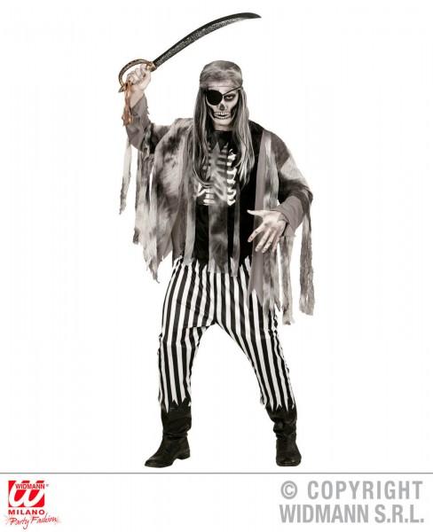 Geisterschiffpirat Shirt mit Rip 5-tlg. Set Pirat Geist Grusel Kostüm Fasching