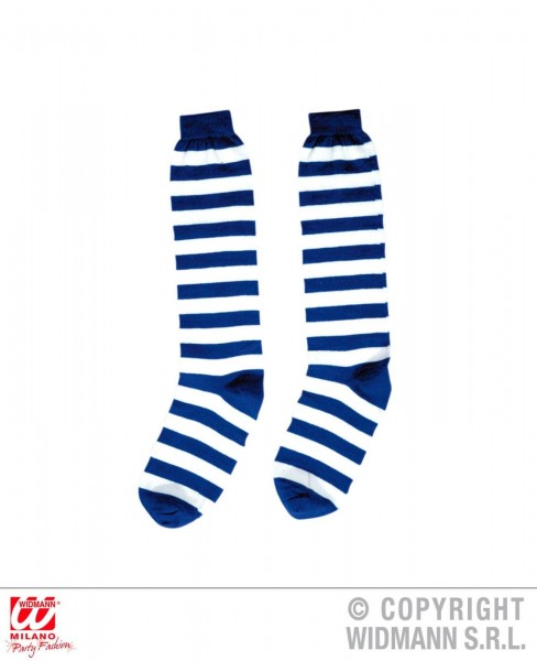 Striped Socks in vers. Farben