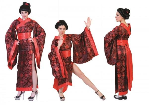 Japanerin Kleid Damen Kostüm Asien