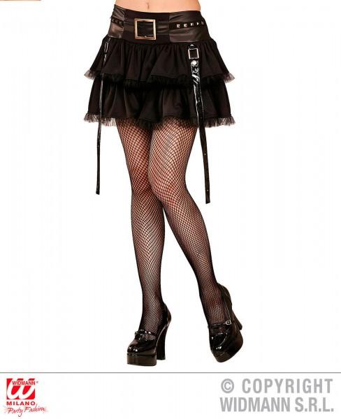 Rock Gothic Punk schwarz One Size
