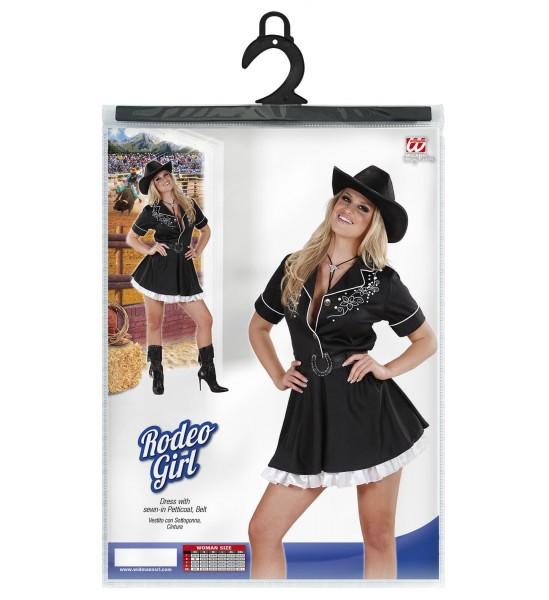 Rodeo Girl Kleid Cowgirl schwarz