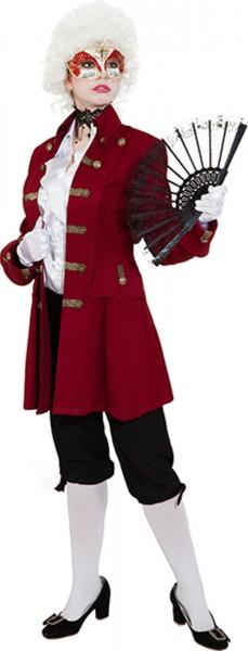 Jacke de Luxe weinrot Kostüm