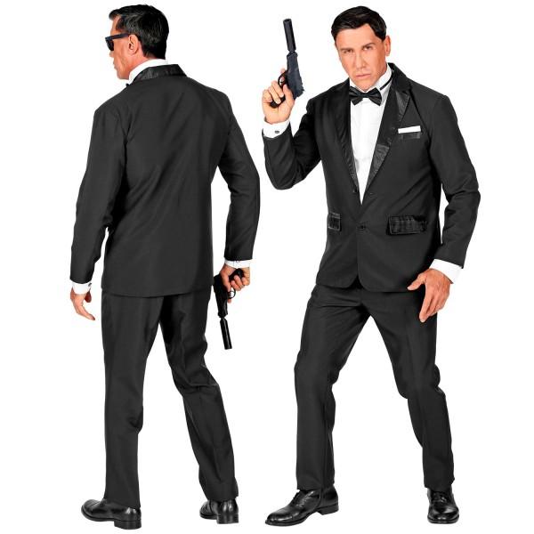 Agent Smoking schwarz 3-tlg.