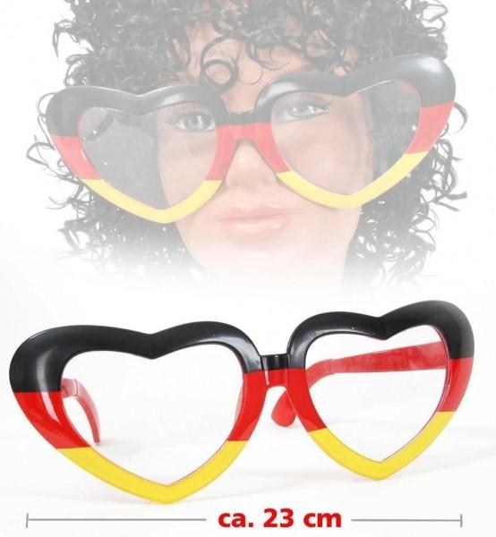 Deutschland Riesenbrille Herz