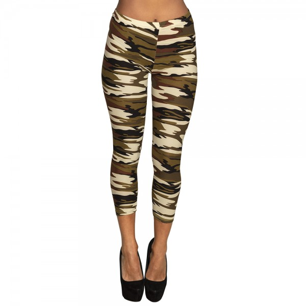 Leggings M Army stretch