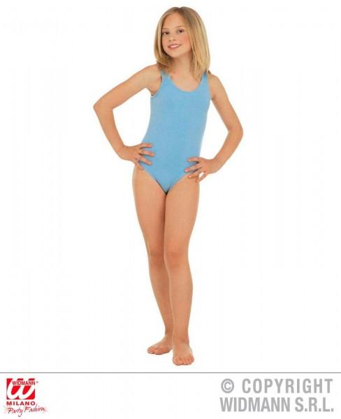 Body ärmellos hellblau Kinder Mädchen blau