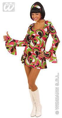 sexy 70er Jahre Minikleid Hippie