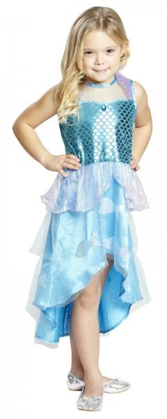 Meerjungfrau Mädchen Kostüm Gr.116-164 Fisch Nixe Kinder Märchen Kostüm Fasching 164