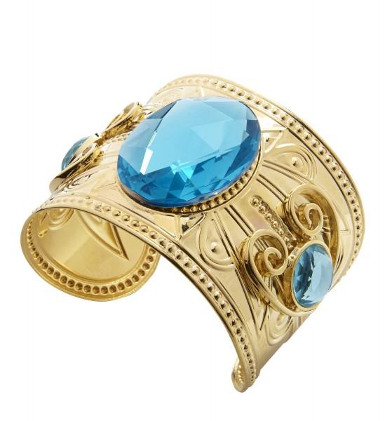 Goldenes Armband mit Topas-Steinen