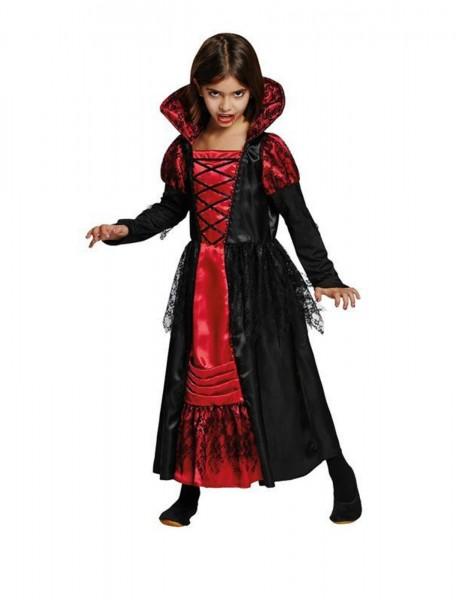 Vampir Prinzessin Kinderkostüm 2-tlg.