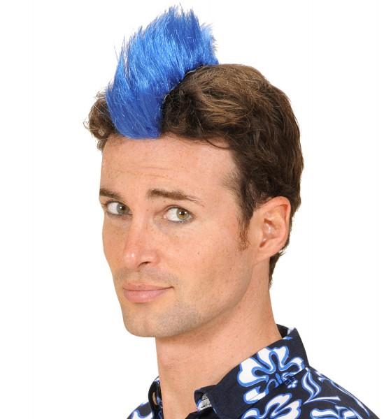 Punk Crest blau