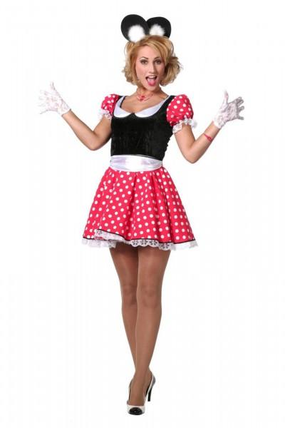 Minnie Modern Maus Damenkostüm