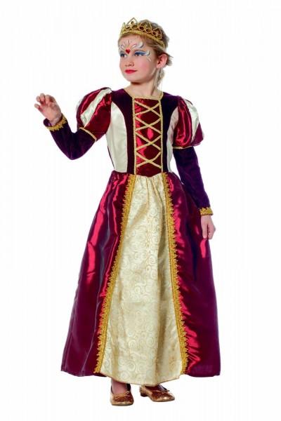 Königin Kleid Kostüm Kinder