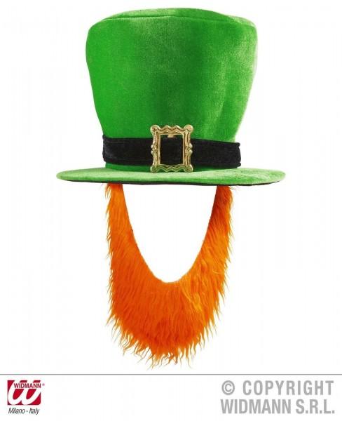 St. Patricks Day Hut mit Bart