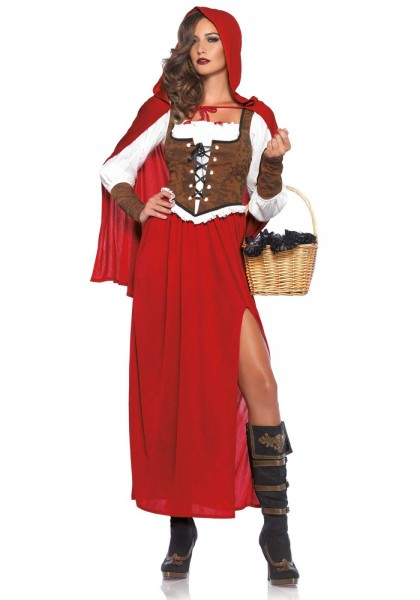 Classic Red Riding Kostüm rot