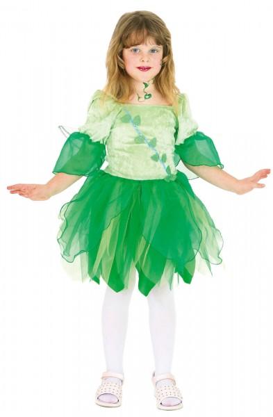 Feen Kleid grün Kinderkostüm Mädchen