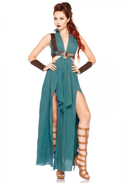 Warrior Maiden Kostüm grün