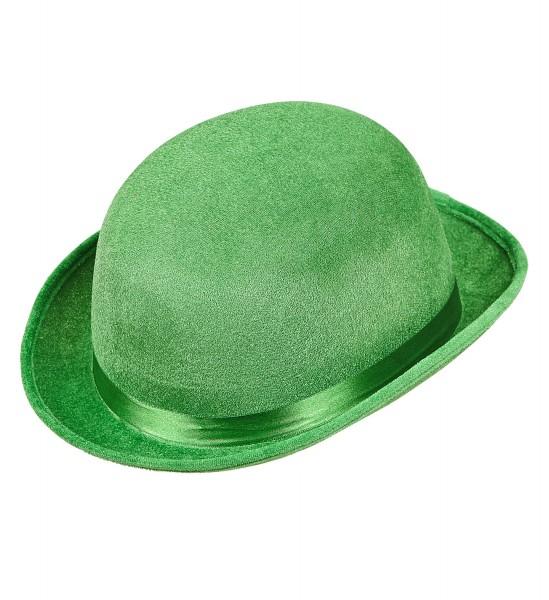 Bowler Hut aus Samt St. Patricks Day