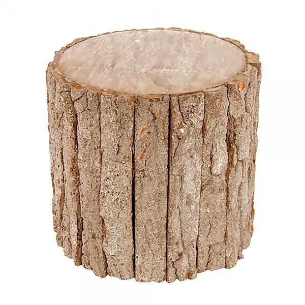 Holzstamm 20x20x19cm