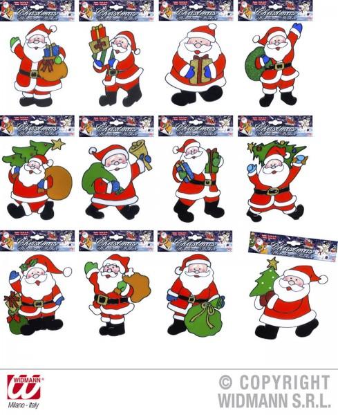 Fensterbilder Weihnachtsmann