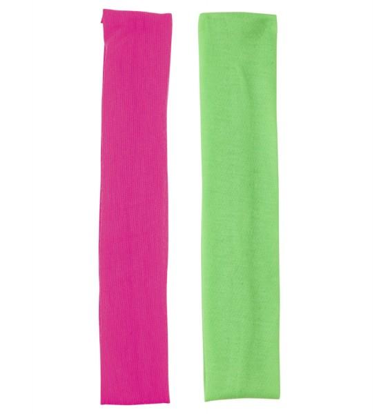 Stirnband Headwraps neon 2-tlg. Set