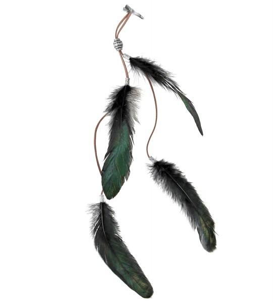 Indianer Haarstecker Federn