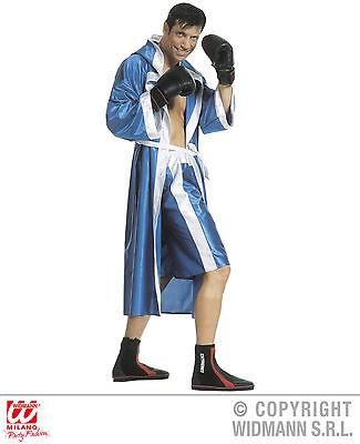 Boxer Kostüm 3-tlg. Set Umhang mit Kapuze