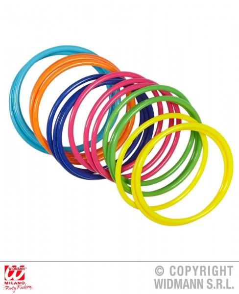 Multicolor Armreifen 18er Set
