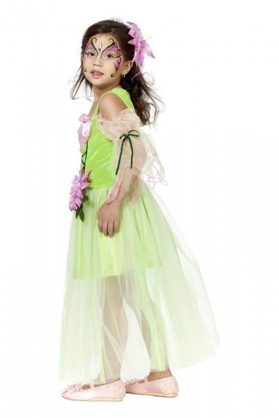 Blumenfee grün pink Fee Prinzessin