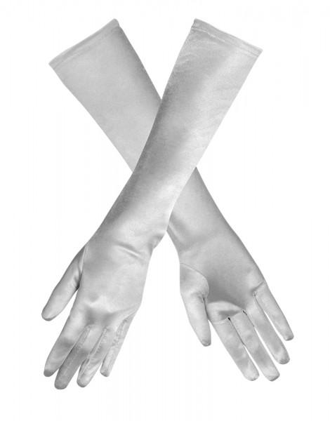 Handschuhe Monte Carlo silber