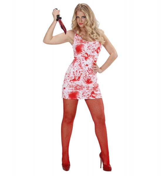 Bloody Mary Kleid Blutflecken