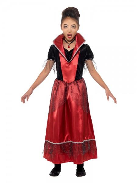 Vampire Princess Costume schwarz rot