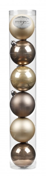 Kunststoff Kugelbox 6 tlg. 8cm