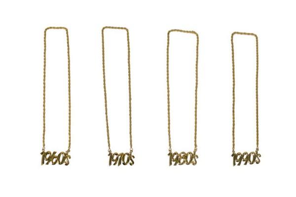 Halskette 1960 1970 1980 1990 Kette gold