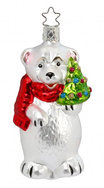 Christbaumschmuck Winterbär 10,5cm