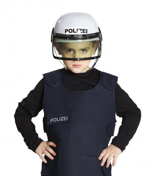 Polizeihelm Kinder