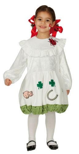 Glückspilz Kleid Kinderkostüm