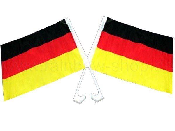 Deutschland Auto Flagge