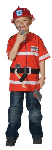 Feuerwehr Shirt Kinder Feuerwehrshirt