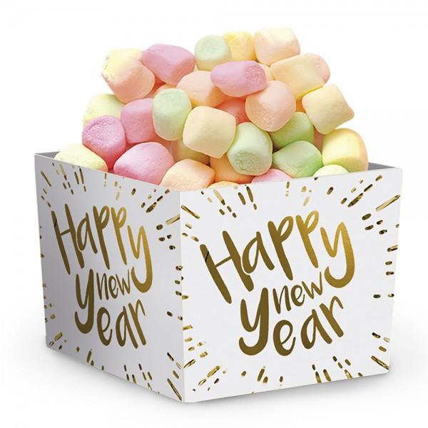 Papierschalen Happy New Year 6-tlg.