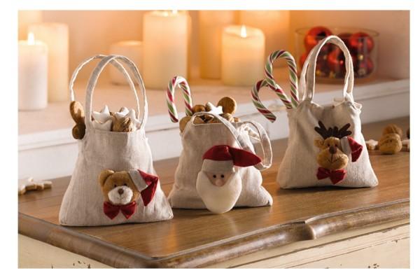 Geschenktäschchen Weihnachten 3-tlg. Set