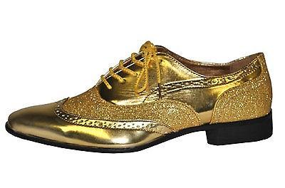 Man Schuhe Silber o. Gold