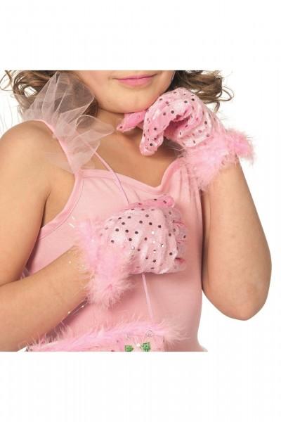 Handschuhe Prinzessin rosa