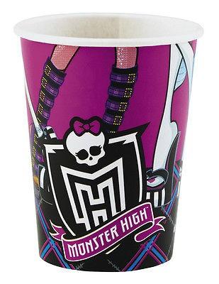 Deko Set Monster High Kindergeburtstag