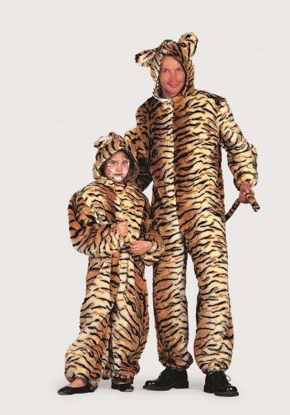 Tiger Plüsch Herren Kostüm